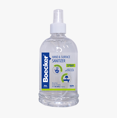 BOECKER® HAND SPRAY SANITIZER 500 ML