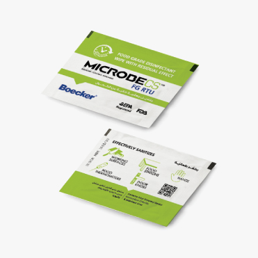 MICROBECS SANITIZING WIPES