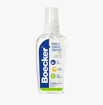 BOECKER® HAND SPRAY SANITIZERS 60 ML