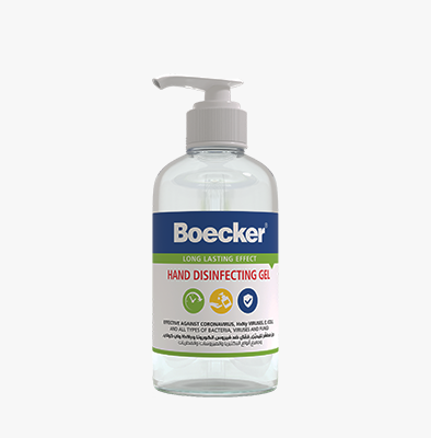 BOECKER® HAND GEL SANITIZER 500ML